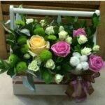 ящик из микс цветов