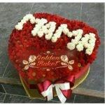 Коробка роз Любимой маме