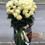 Букет из 41 голландских  роз