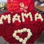 Букет из роз Любимой маме