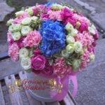 Цилиндр из микс цветов