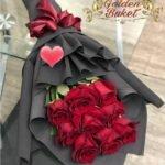 Букет из 9 импортной розы