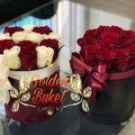Коробка из 13 роз